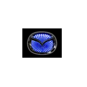 3D Emblem MAZDA 10.1 cm x 8.0 cm